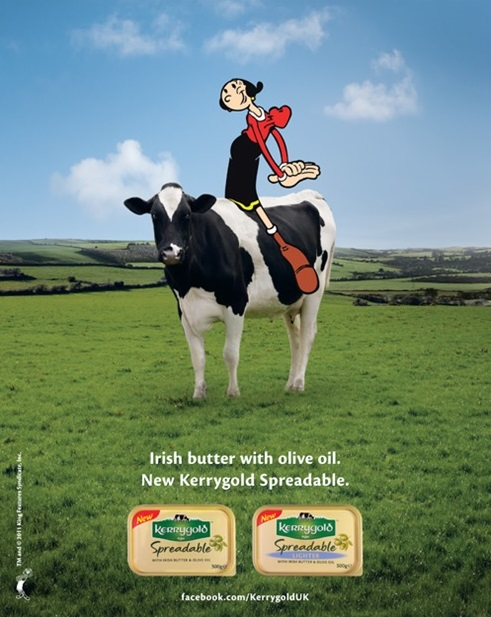 Kerrygold cow