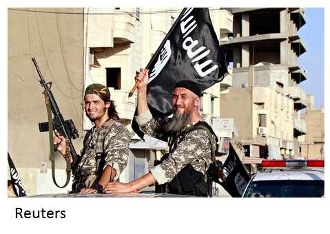ISIS Reuters two men