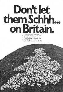 Schhh poster