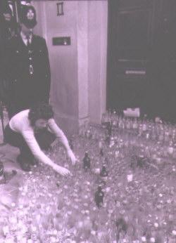 recycling bottles foe schweppes