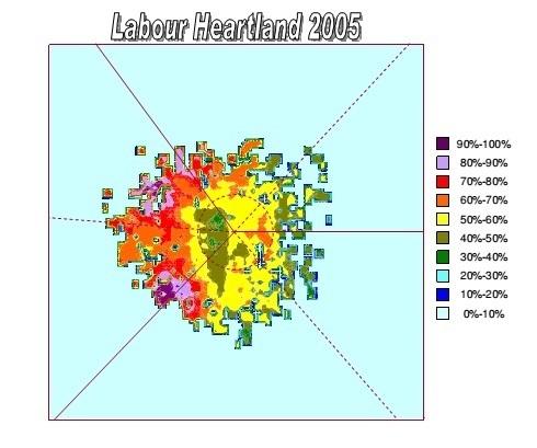 Labour heartland 2005