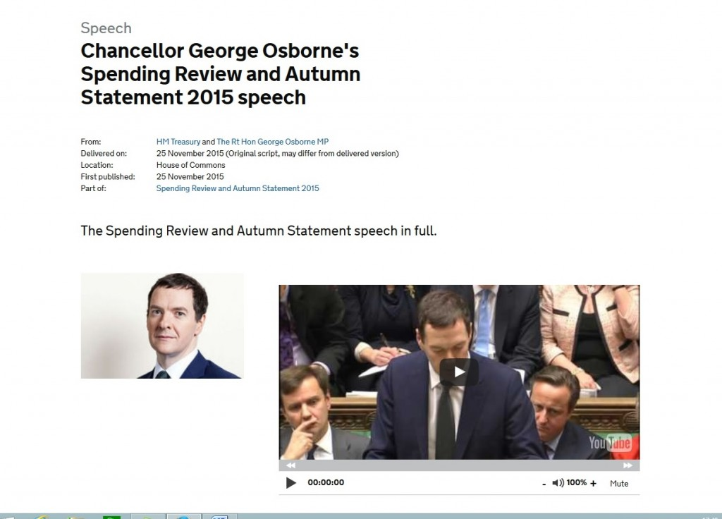 Osborne speech