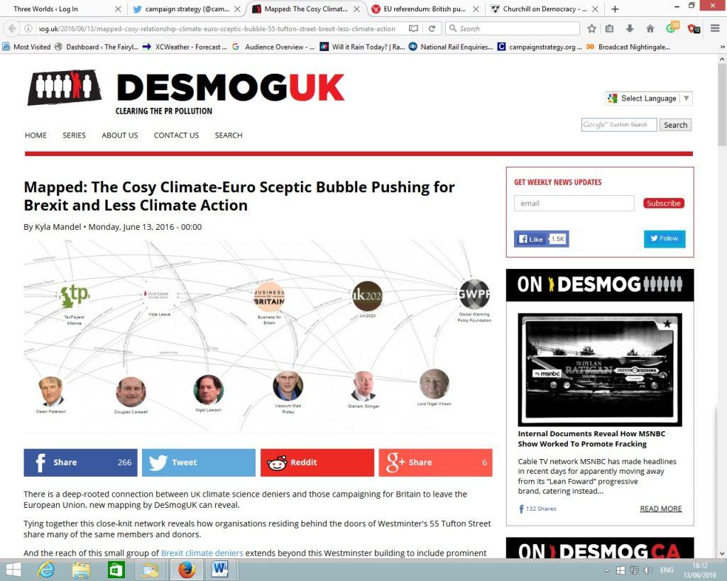 desmog study 13 6 16